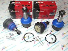 2WD NEW 4 FRONT LOWER & UPPER BALL JOINTS 94-96 Dodge RAM 1500 K7201 K7206