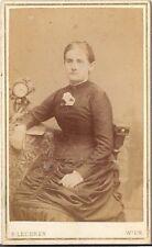 CDV photo Feine Dame - Wien um 1890
