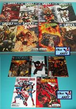 Lot de 13 BD Marvel = 8 AVENGERS VS X-MEN (novembre 2012 à juin 2013) + 5 Sagas