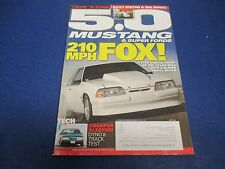 5.0 Mustang & Super Fords Magazine, July 2013,210MPH Fox, Tyler Garcia