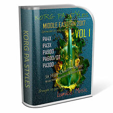 Korg Styles Middle Eastern 2017 Vol1 for Korg PA300/600/QT/900 PA3X PA4X
