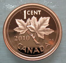 2010 CANADA 1 CENT PROOF PENNY COIN