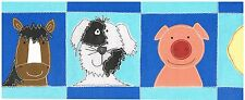 DUCK HORSE DOG PIG CHILDRENS FAVORITES Wallpaper bordeR Wall