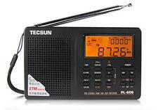 Tecsun pl606 Digital Pll Portátil Fm stereo/lw/sw / Mw Dsp Receptor Radio + Garantía