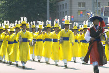 493065 Paekche Festival Street Parade Through Puyo Korea A4 Photo Print