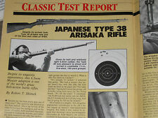 GUNS & AMMO TEST JAPANESE TYPE 38 ARISKA, RUGER MINI-14 22 CONV, STAR 30 PISTOL