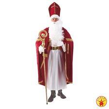 Bischofsrobe Weihnachtsmannkostüm Nikolauskostüm 3tlg. Rubies   by Brand Toys