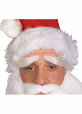 Santa Eyebrows with Lace Backing St. Nick Costume Accessory Christmas