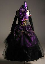 Vocaloid 2 megurine Luka Ruka Luxury Gothic Cosplay Costume