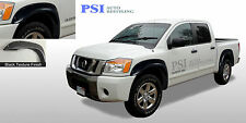 FITS 04-14 NISSAN TITAN (W/O BEDSIDE LOCKBOX ONLY) RIVET Fender Flares TEXTURED