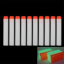 Glow 100pcs 7.2cm Refill Bullet Darts for Nerf N-strike Elite Series toy Gun