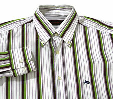 ETRO MILANO Mens Button Front Long Sleeve DRESS SHIRT Made In Italy Size 41