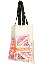 TOPSHOP ECO FRIENDLY UNION JACK SHOPPING SHOPPER BAG REUSABLE RETRO VINTAGE BNWT