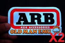 2 X ARB 4x4 Old Man EMU Sticker Decal Car Truck Off-road 4WD Toyota Jeeb Ford