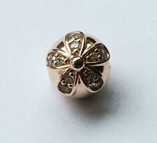 GENUINE PANDORA Rose Dazzling Daisies Clip 781493CZ FREE DELIVERY