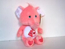 2002 CARE BEARS NEW VINTAGE 20TH ANNIVERSARY COUSIN LOTSA HEART ELEPHANT