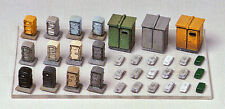 Greenmax No.2181 Rail side Accessories Set (1/150 N scale)