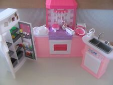 Barbie Size Dollhouse Furniture Kitchen New