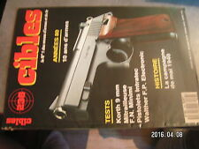 $$o Revue Cibles N°238 Korth 9 mm  FN Minimi  Intratec  Walther FP Electronic