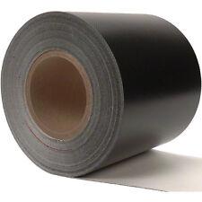 Sigman 6 in. x 3 ft. Tarp Repair Tape - 18 Vinyl Coated Polyester - Black Color
