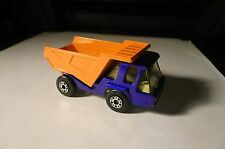 DIECAST MATCHBOX SUPERFAST #23 ATLAS DUMP TRUCK 1976 CLEAN