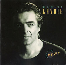 Daniel Lavoie CD Here In The Heart - France (M/M)
