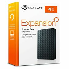 "Brand New Seagate Expansion 4TB 2.5"" Portable External Hard Drive 4 TB HDD PS4"