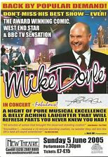 Genuine Hand Signed Autographed Theatre leaflet - Mike Doyle
