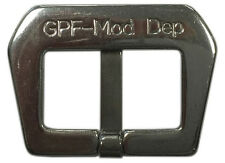 22mm Panatime Stainless Steel GPF MOD LOGO Sew-in Watch Buckle