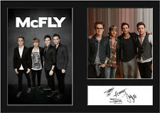 McFLY #1 Signed Photo Print A4 Mounted Photo Print - FREE DELIVERY