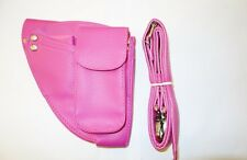 Professional Hairdressing Scissors Shear Wallet Holster holder pouch Pink