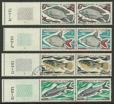 Ciad Tchad - 1969 - C22 - Fishes - Poissons - Pesci - Fauna - Set Cpl - Used