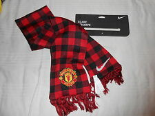 NIKE MANCHESTER UTD OFFICIAL SCARF SUPPORTER SCIARPA 'GLORY GLORY MAN UTD'