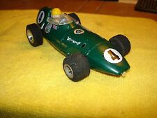 Scalextric Triang Lotus Vanwall in green MM/C.55 1/24 Slot Car offered by MTH