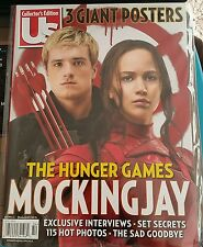 THE HUNGER GAMES MOCKINGJAY  US COLLECTORS MAGAZINE BRAND NEW IN SLEEVE