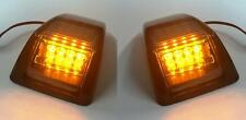 2x LED FRONT INDICATORS L+R for VOLVO FH 16 III 2008/12 E marked Side lights