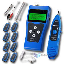 Network Ethernet LAN Phone Tester wire Tracker USB Coaxial Cable -NF388B