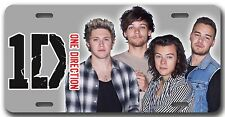 L@@K! One Direction 1D License Plate - Vanity Auto Tag Harry Niall Louis Liam