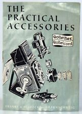 ROLLEIFLEX ROLLEICORD ACCESSORY GUIDE THE PRACTICAL ACCESSORIES