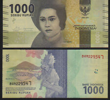 Indonesia 1000 Rupiah 2016 Pick New Mint Unc
