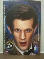 DOCTOR WHO - DR - FUN PARTY FACE MASKS - 11th DR : MATT SMITH + A SILENT. BBC