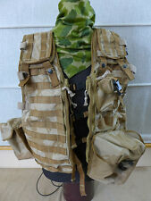 British DESERT DPM EINSATZWESTE TACTICAL VEST LOAD CARRYING MOLLE + 3 Taschen