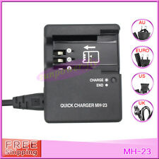 MH-23 MH23 EN-EL9 EN-EL9a Camera Battery Charger For Nikon D40X D60 D3000 D5000