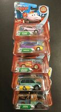 Disney Cars Mixed Chase Car Lot - Mater Oil Can, Paint Mask LMQ, Van Stickers