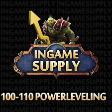 Legion WoW Powerleveling 1 x 100-110 World of Warcraft Legion Powerlevel ~2 Tage