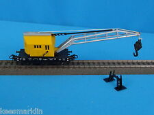 Marklin 4611 DB Crane car YELLOW of 1981
