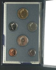 1990 Canada Specimen 6 Coin Set Royal Canadian Mint with Sleeve GEM QUALITY.