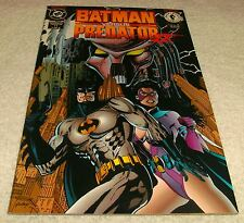 DC COMICS BATMAN VS PREDATOR II # 1 VF+