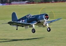 "Giant 1/4 Scale F4U-1D corsair 84 "" WS scratch build R/c Plane Plans & Patterns"