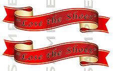 Perdere le Scarpe Rosso Nastro Adesivo KIT, passi CAMION AUTO FURGONE